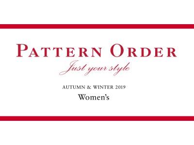 オリジナルの一着が作れる『ニューヨーカーウィメンズ パターンオーダー』。7月24日(水)より、公式オフィシャルサイトにて2019年秋冬コレクションを公開。