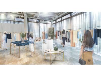 小柄女性向けブランドCOHINAが4月29日表参道に初の試着専用路面店舗「COHINA Limited Fitting Store」をオープン