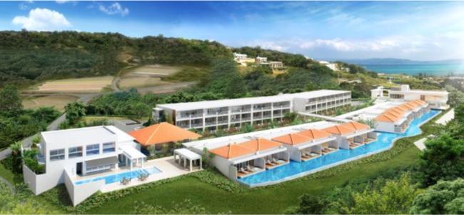 ソラーレホテルズ 新ブランド『LOISIR Terrace & Villas KOURI』6月25日オープン
