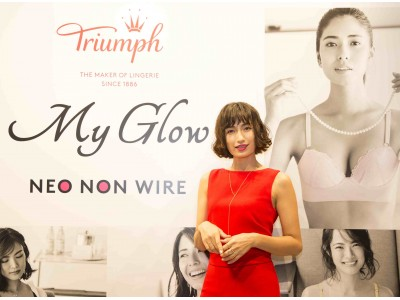 トリンプによる新たな展示・参加型イベント「Triumph Ladies' Night」初開催!