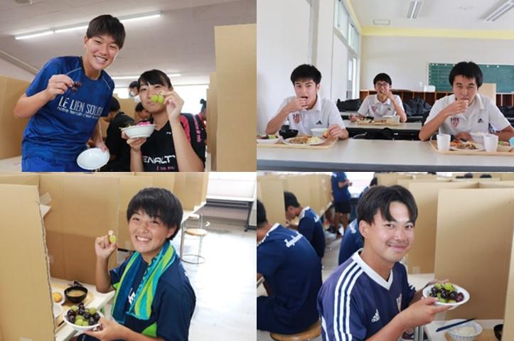【JAPANサッカーカレッジ】地元行政実施のクラウドファンディング「学生たちにおいしいもので元気を出してもらおう!プロジェクト」でアツいエールをいただきました!