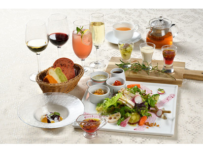 【ホテルイタリア軒】新潟おとな女子ふたりが完全監修したホテルのランチ~美と免疫力をテーマにした美食活サラダ~