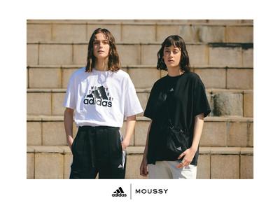 adidas   MOUSSY FINAL COLLECTION アディダスとMOUSSYによる共同開発 ファッション×スポーツを融合させたファイナルコレクション