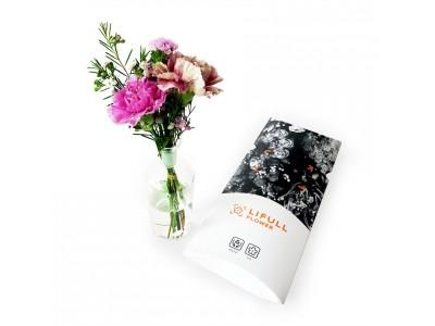 花の定期便 LIFULL FLOWER 780円の「ライトプラン」を11月からスタート ~毎週、新鮮なお花を市場からポストにお届けします~