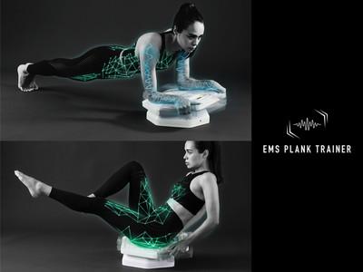 3Dに動くプランクにEMSが加わった、最新の「ルルドスタイル EMSプランクトレーナー」発売