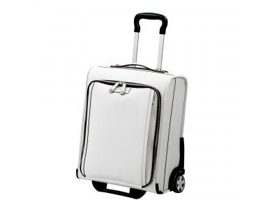 """鞄職人の技術を結集したファクトリーブランド """"CREEZAN""""の上質なホワイトレザーが美しいフラッグシップシリーズ 「JETTER」 より「CARRY BAG」がリニューアルして新登場!!"""