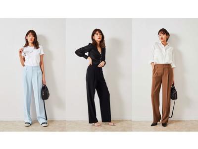 本日4/14(水)発売 モデル 川口 優菜さん × STORY コラボレーション 美脚パンツを発売