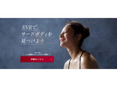 体に無理なく、健康的に、体重減量やサイズダウン!総合健康痩身教室「健康やせ専門EVE」が、日本マーケティングリサーチ機構の調査で6冠を獲得しました。