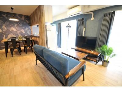 各室異なる『コンセプトテーマ』。ユニークな民泊マンションが大阪市北区に堂々オープン!