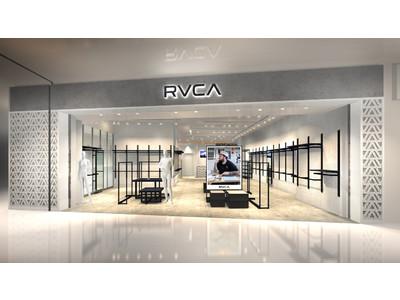 ライフスタイルブランド「RVCA」の国内3号店が愛知県東郷町にオープン!