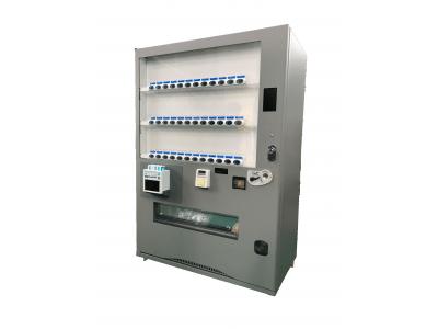 スマホ充電器レンタルChargeSPOT」富士電機と共同でChargeSPOT搭載自動販売機を展開