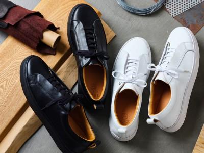 スニーカーブランド「SLACK FOOTWEAR」と東京の老舗靴工場によるコラ…