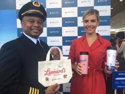 デルタ航空が出展する「関空旅博2017」が開幕