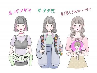 「全国女子」と「SHIBUYA109ガールズ」比較!「ヲタ活(ファン活動)」に関する調査「around20」の女の子、約7割は「ヲタク」と自覚!