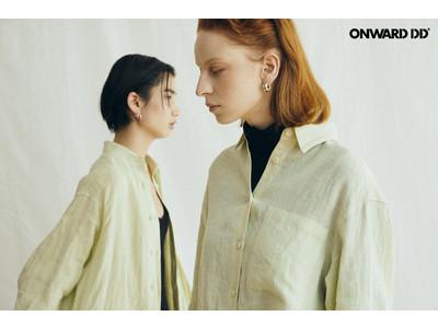 オンワード発D2Cブランド『ONWARD DD』3/17(水)よりスタート コンセプトは「流行にのれない服」