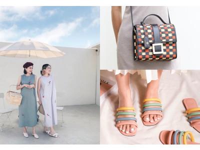 夏らしいデザインで、気分も明るく!注目のタイ発おしゃれブランドが大集合の「タイフェス」をオンラインで
