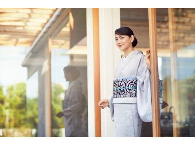 <きもの着方教室 いち瑠>新イメージモデルに、モデルの前田典子さんを起用!