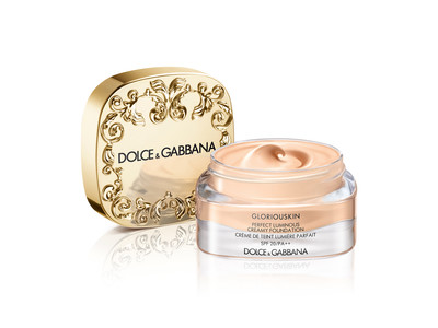 「ドルチェ&ガッバーナ ビューティ」 内側から輝く極上肌、最高級の肌に導くクリームファンデ