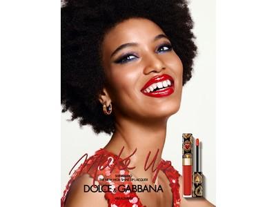 「ドルチェ&ガッバーナ ビューティ」唇に、輝く宝石の存在感の春色リップラッカーに、花をモチーフにした春の新色7カラーが登場