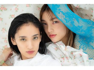 元E-girlsのYURINOさん&須田アンナさんが新発売のソーラーグロウクッションファンデのLOOKを公開 in ドルチェ&ガッバーナ ビューティ プレス