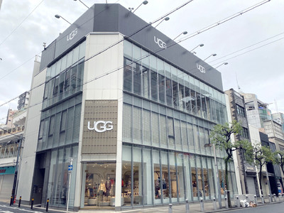UGG(R)大阪店がリニューアルオープン!日本初のコンセプトストア誕生!
