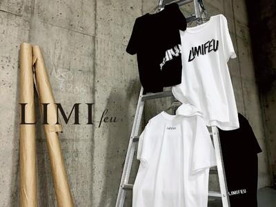LIMI feu オンライン限定のユニセックスTシャツを5月22日土曜日18時に発売