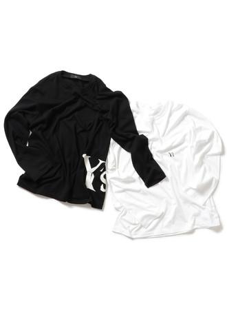 Y's、ラウンジウェアコレクションのTシャツシリーズに長袖Tシャツが登場