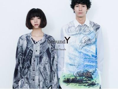 "Ground Y ☓ YASUTO SASADA現代美術家""笹田 靖人""とコラボレーション1 月11 日(金)より展開スタート。 限定ノベルティもプレゼント"
