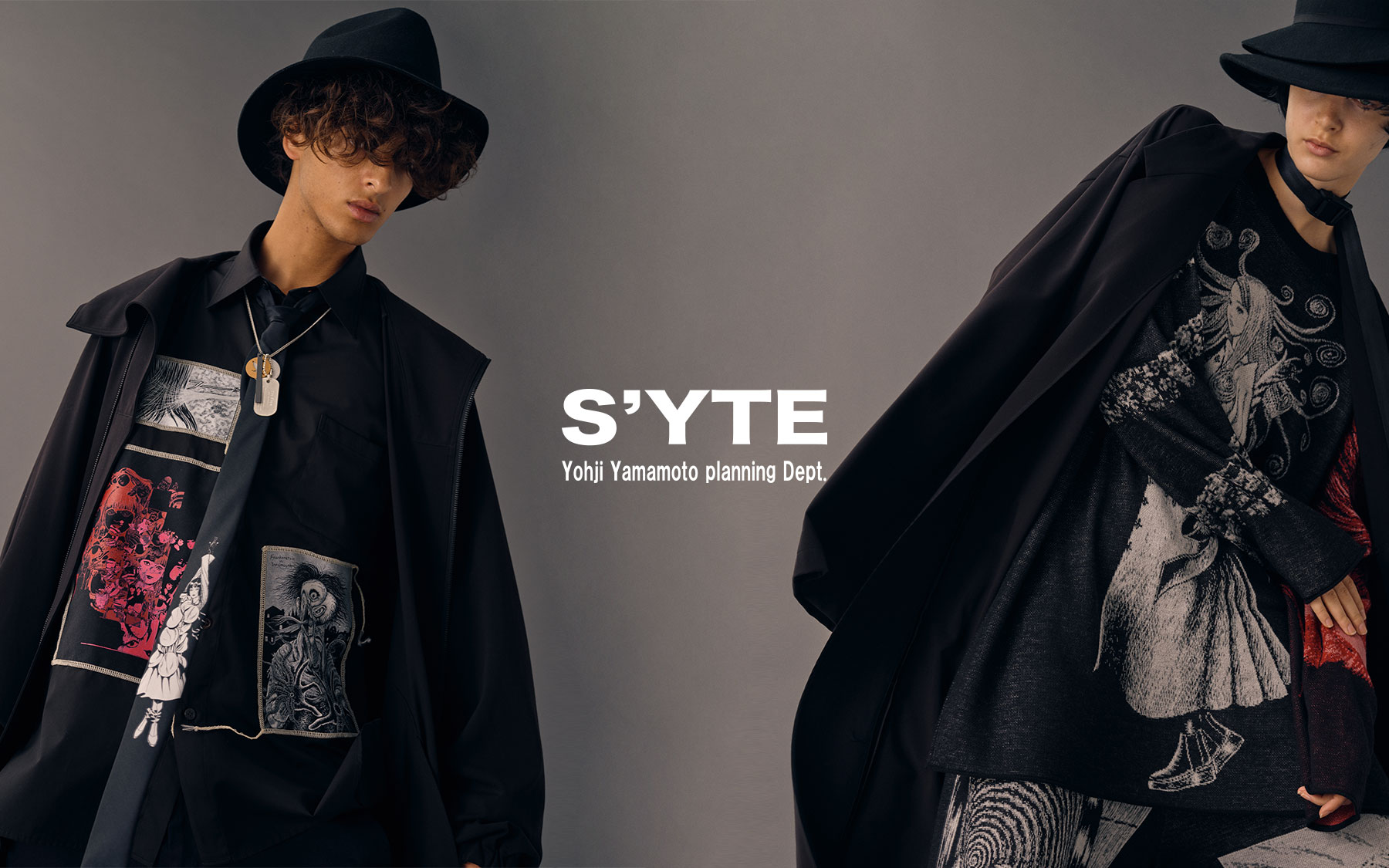 S'YTE x Junji ITO Collaboration 第2弾 12月12日 WEB STO... 画像