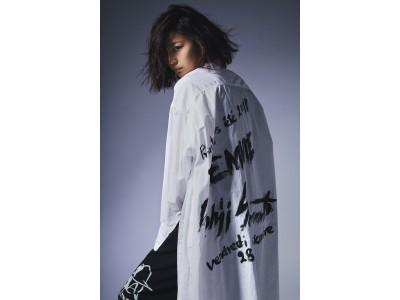 BLACK Scandal Yohji Yamamoto 2019 SS WOMEN'S展開スタート イメージビジュアルにモデル/アーティストの西内まりやさんを起用