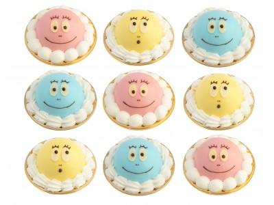 [夏休み限定メニュー]『バーバパパ』がケーキに変身?!お友だちと一緒に食べたい、スペシャルケーキセット登場!