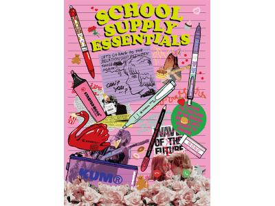 集まれ文房具LOVER!学校生活に欠かせない、PLAZAいちおしのステーショナリーがラインアップ。