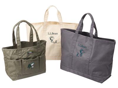 今年も見逃せない!PLAZA オンラインストア限定企画!L.L.Beanとピーナッツのコラボトートバッグ、予約販売受付開始!