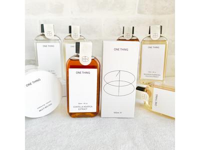 韓国スキンケア「ONE THING(ワンシング)」がPLAZAに上陸!10種の化粧水、PLAZA・MINiPLA先行販売をスタート。