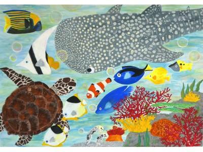 「きれいな空気・水と生きもの」をテーマにした「第14回環境絵画コンクール」の優秀作品が決定【パナソニック エコシステムズ】