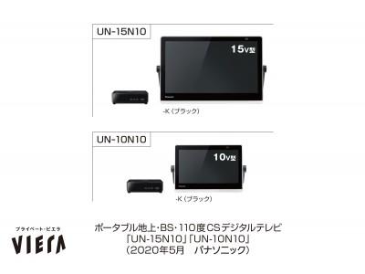 ポータブルテレビ「プライベート・ビエラ」N10シリーズを発売