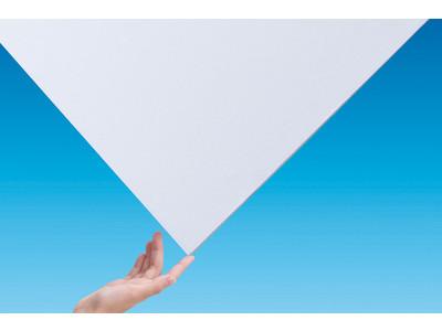 業界最軽量の不燃軽量天井材「エアリライト」発売