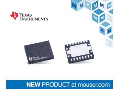 マウザー、TI社のCAN FDコントローラとトランシーバを内蔵したシステム・ベーシス・チップ『TCAN4550』の取り扱いを開始