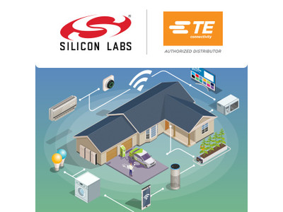 マウザー、Silicon Labs社およびTE Connectivity社の製品によるスマートホームソリューションサイトを開設