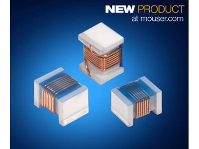 マウザー、業界最高レベルのQ値を実現する、コイルクラフト社の0805HP/HQセラミック巻線チップインダクタの販売を開始