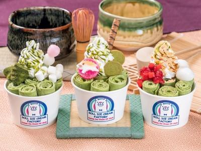 京都・新京極店オープン記念!冬アイスの代名詞「ロールアイスクリームファクトリー」が、リッチな味わい!全店で抹茶アイス祭り「Matcha FESTA」を開催。京都限定メニューも全店で期間限定提供