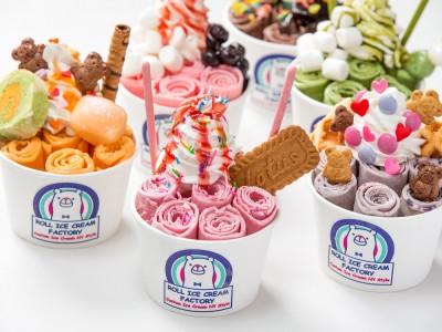 原宿名物!長蛇の行列店が1周年!話題の「ROLL ICE CREAM FACTORY」(ロールアイスクリームファクトリー)が創業祭を開催。