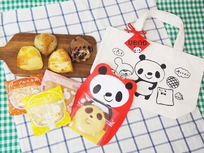 【上野みやげの新定番!】キィニョンのスコーンに夏限定 パンダのスイーツバッグ登場