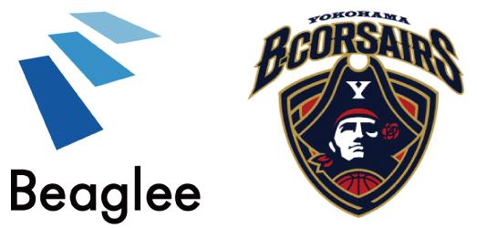 ビーグリーがプロバスケットボールチーム「横浜ビー・コルセアーズ」とトップパートナー契約を締結 画像