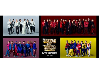 『BATTLE OF TOKYO ~ENTER THE Jr.EXILE~』ライブ・ビューイング開催決定!