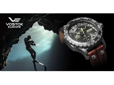 Vostok Europe挑み続ける者の腕時計、Expedition Everest underground 日本上陸