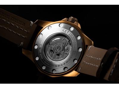 タフネスな腕時計の代名詞VOSTOK EUROPE STORY(ボストークヨーロッパ)が2019年バーゼルワールドで発表した「RocketN1 Power Reserve」モデルがついに日本に登場!。