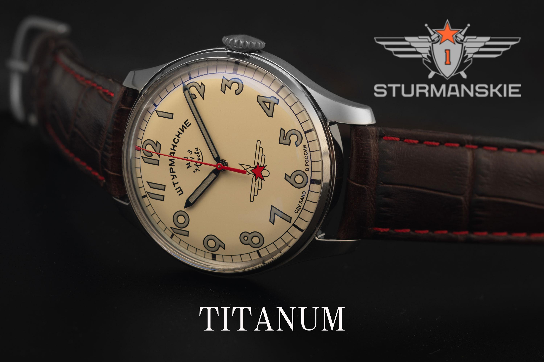 ガガーリンアニバーサリーシリーズから、衝撃的な軽さ50gの激軽のチタニウムを採用した新モデルが誕生! 個性が異なる3種類はファッションに合わせてセレクトがいい