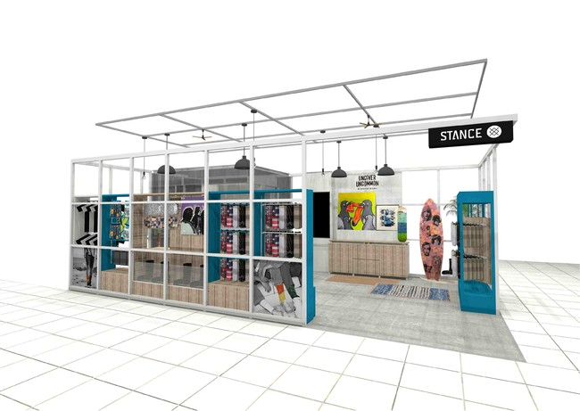 人気のカリフォルニアソックスブランド、「STANCE」の直営店、スタンス ストアが、3月5日(金)渋谷パルコ 5階にオー...