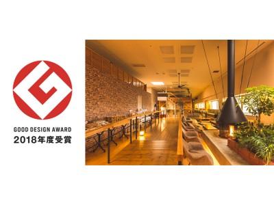 温泉道場の温浴施設ブランド「おふろcafe」が2018年度グッドデザイン賞を受賞しました